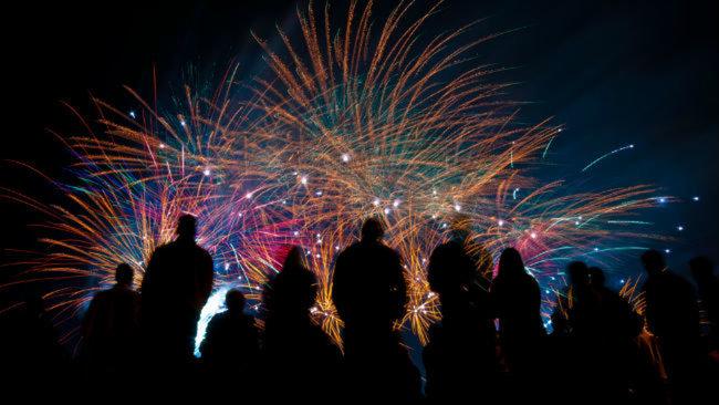uc ruc ro trong dem phao hoa 5 - Úc rực rỡ trong đêm pháo hoa