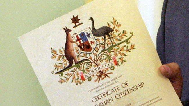 Kết quả hình ảnh cho dự luật quốc tịch Úc