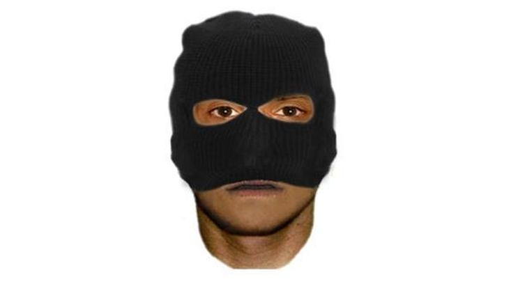 Cảnh sát đã tung hình của tên tội phạm để truy tìm trên diện rộng