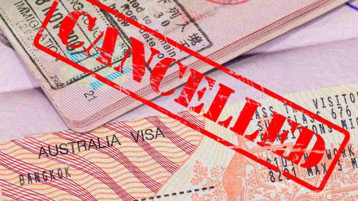 Kết quả hình ảnh cho visa Úc bị hủy
