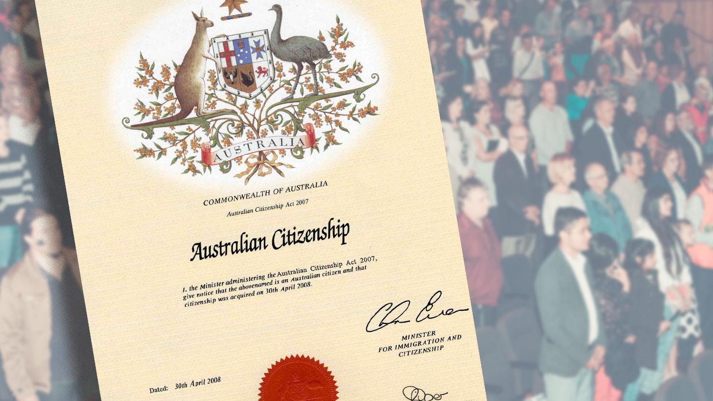 Những thay đổi khó khăn hơn để nhập quốc tịch Úc