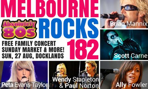 lễ hội nhạc Rock quy tụ những ngôi sao chuyên thể hiện những bài hát nổi tiếng từ năm 80