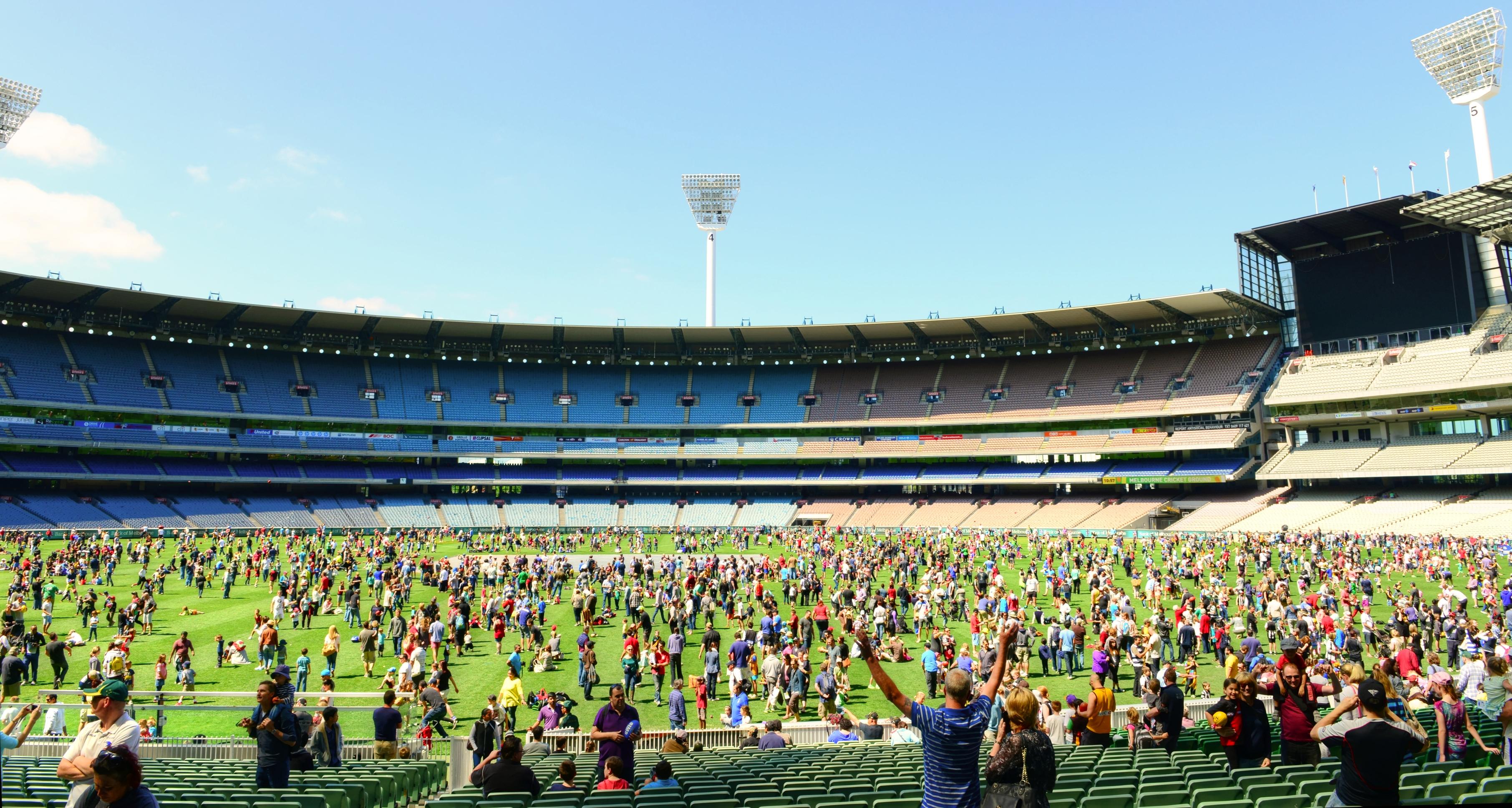 2013 MCG Open Day 10921776133 - Tổng hợp những sự kiện miễn phí tại Melbourne tháng 10 này