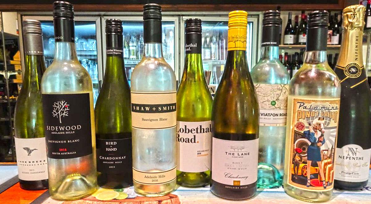Adelaide được mệnh danh là thủ phủ rượu vang của Úc,