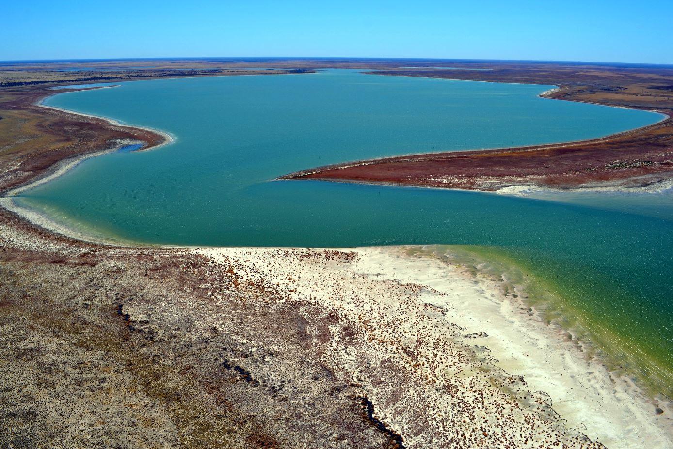 Lake Gregory – Paruku - Du lịch Úc từ trên cao
