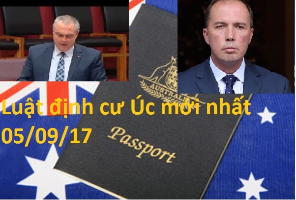 Luật định cư Úc mới nhất 050917