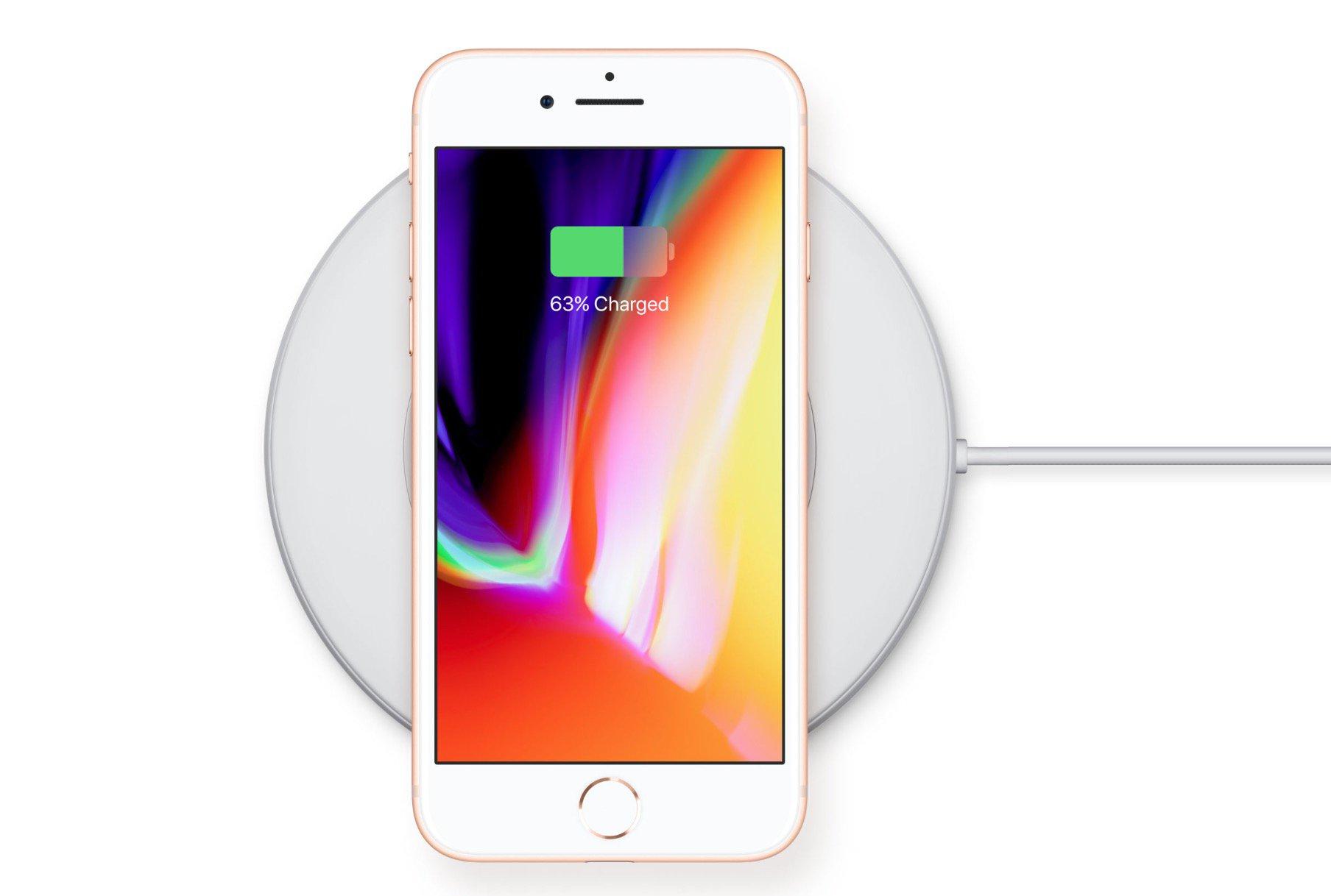 Sạc không dây QI - Apple iPhone 8 và iPhone 8 Plus tất cả những điều bạn muốn biết ở đây