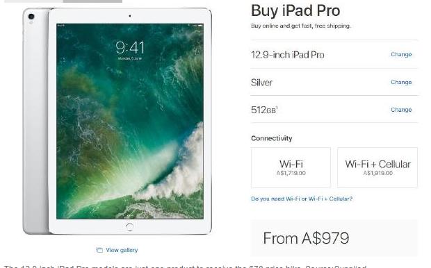 """apple am tham tang gia - Apple """"âm thầm"""" tăng giá một số sản phẩm sau khi ra mắt iPhone X"""