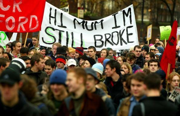 Đề xuất này làm sinh viên rất phẫn nộ và biểu tình ở Melbourne