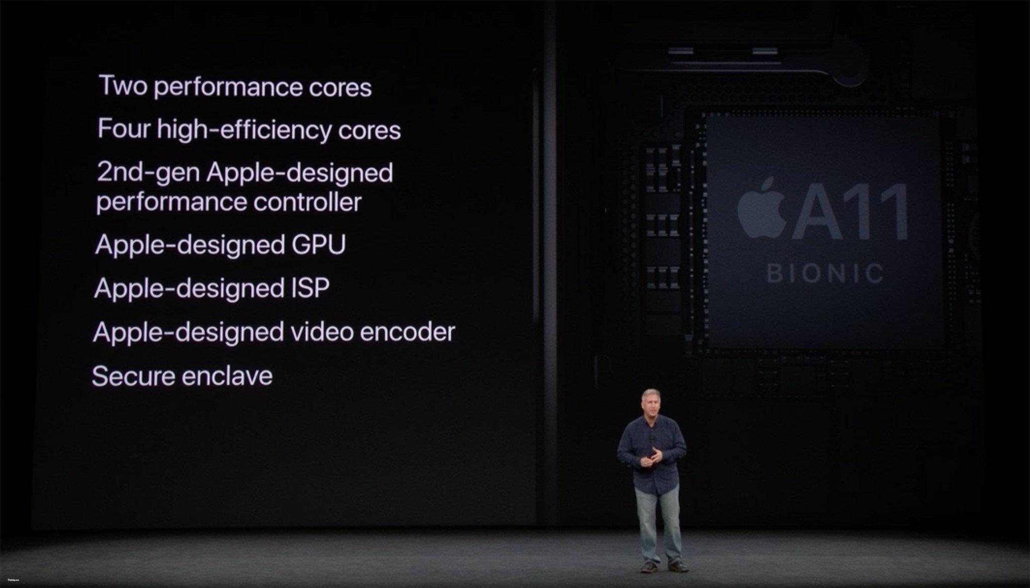 chip a11 bionic - Apple iPhone 8 và iPhone 8 Plus tất cả những điều bạn muốn biết ở đây