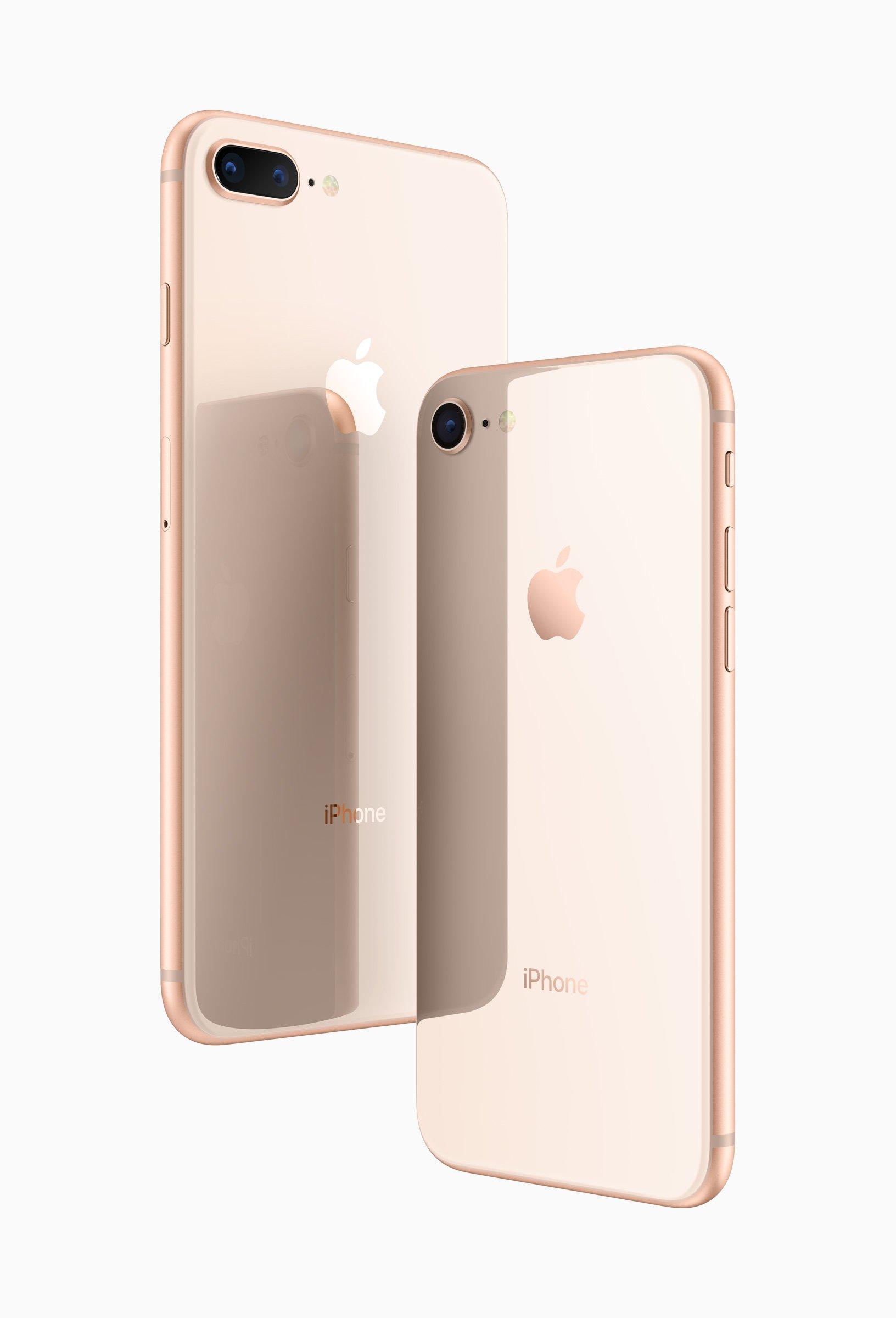 iphone 8 va iphone 8 plus mat truoc sau - Apple iPhone 8 và iPhone 8 Plus tất cả những điều bạn muốn biết ở đây