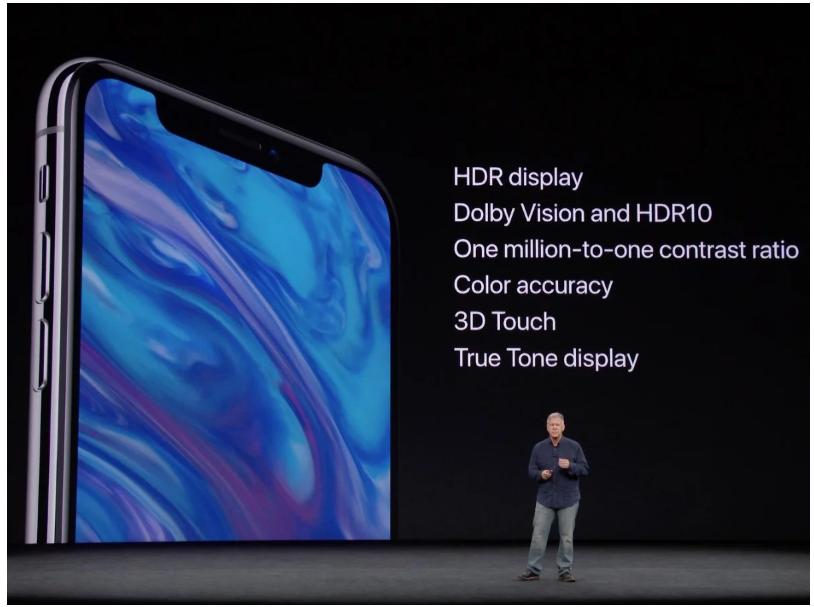 Màn hình iPhoneX