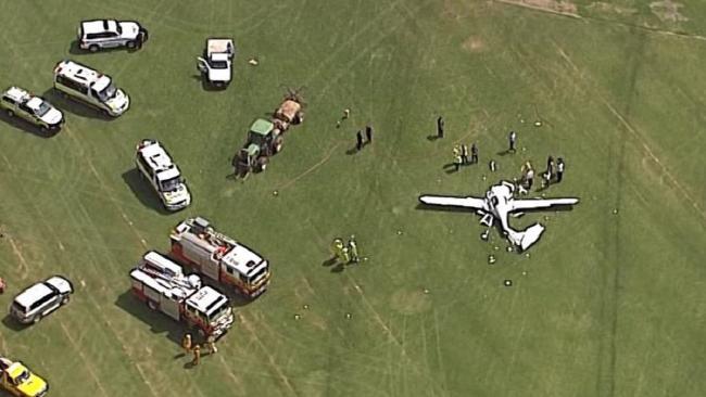 tai nạn máy bay ở Brisbane