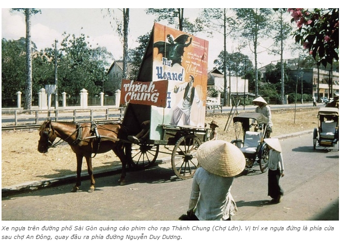 n tượng với những kiểu quảng cáo của người Sài Gòn xưa 4 - Ấn tượng với những kiểu quảng cáo của người Sài Gòn xưa