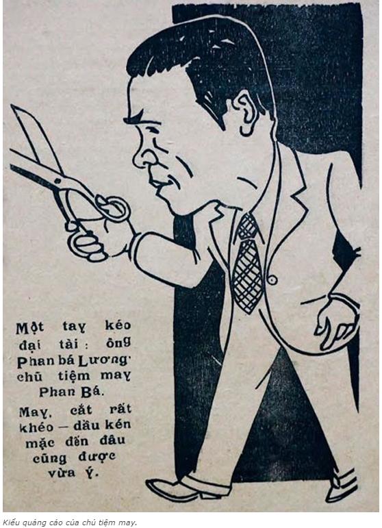 n tượng với những kiểu quảng cáo của người Sài Gòn xưa 5 - Ấn tượng với những kiểu quảng cáo của người Sài Gòn xưa