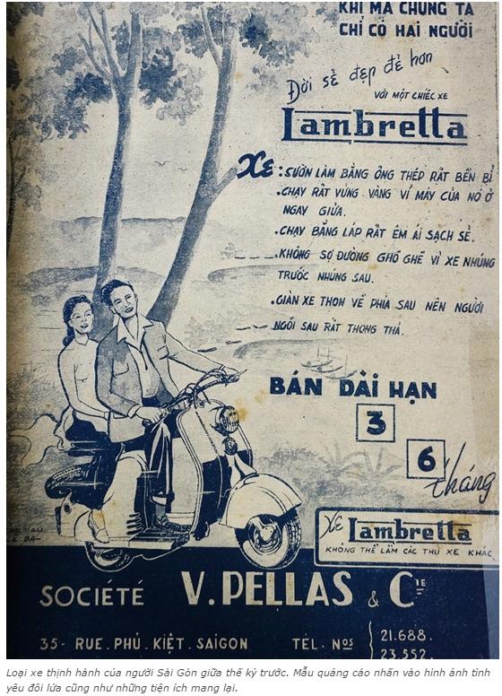 n tượng với những kiểu quảng cáo của người Sài Gòn xưa 6 - Ấn tượng với những kiểu quảng cáo của người Sài Gòn xưa
