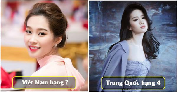 10 nước nhiều phụ nữ với vẻ đẹp tự nhiên nhiều nhất Châu Á, Vietnam đứng  thứ bao nhiêu?