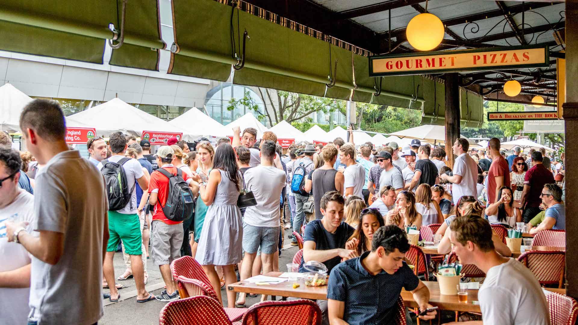 Beer Festival The Australian The Rocks - Những sự kiện trong tuần này để có buổi hẹn hò ấn tượng tại Sydney