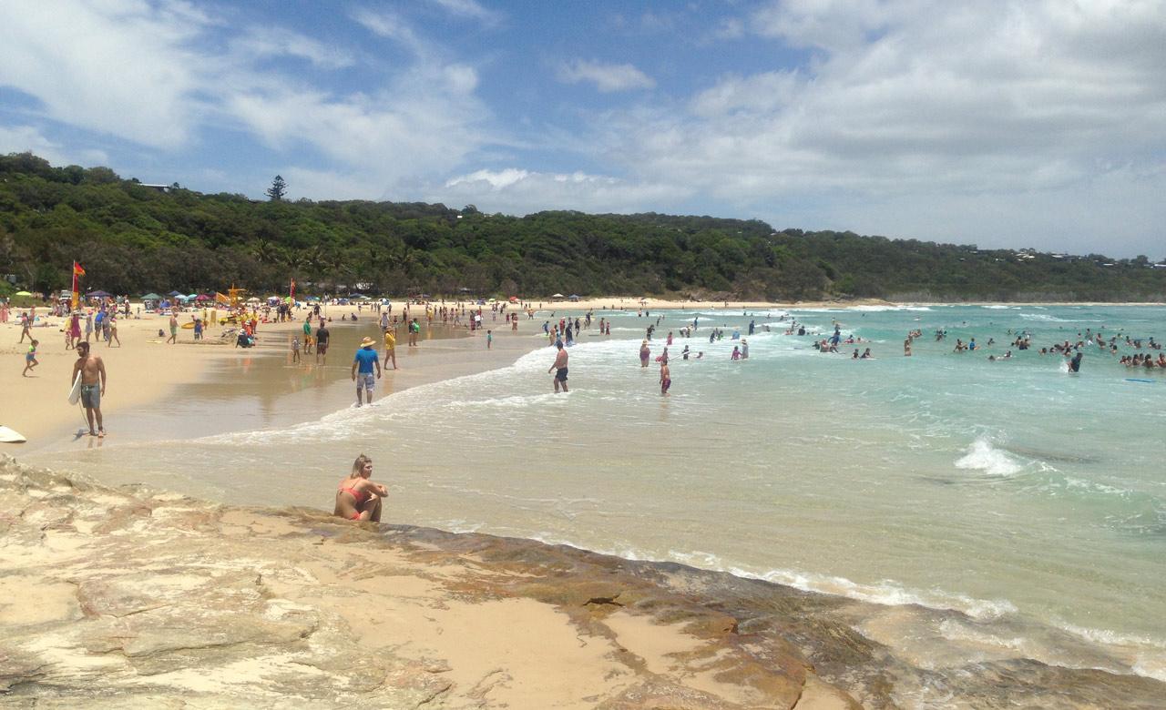 Cylinder Beach 1 - 10 bãi biển cắm trại tốt nhất tại Queensland cho mùa xuân này