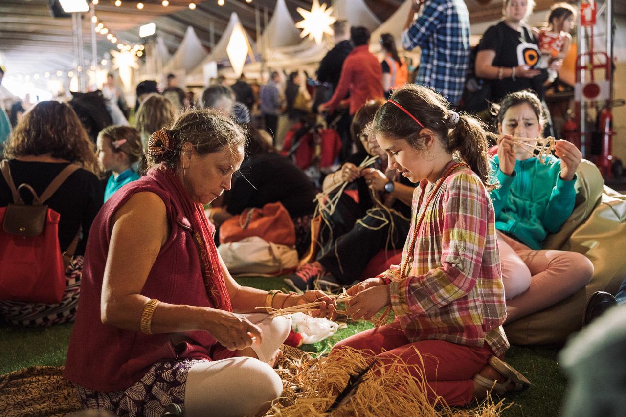Ghé ngang những xưởng dệt - Lễ hội miễn phí BỮA TIỆC CHO TÂM HỒN Homeground tại Sydney