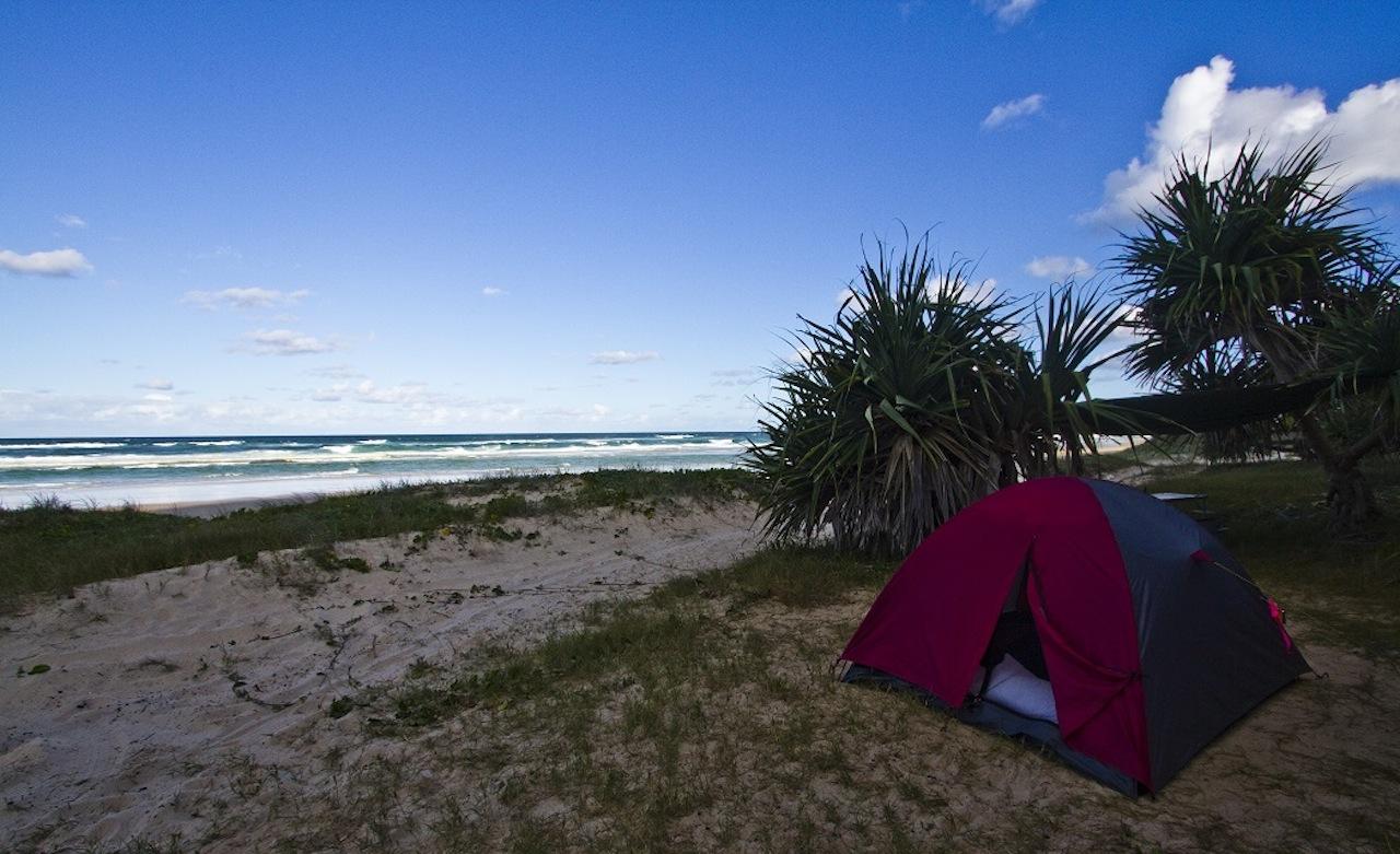 fraserislandcamp - 10 bãi biển cắm trại tốt nhất tại Queensland cho mùa xuân này