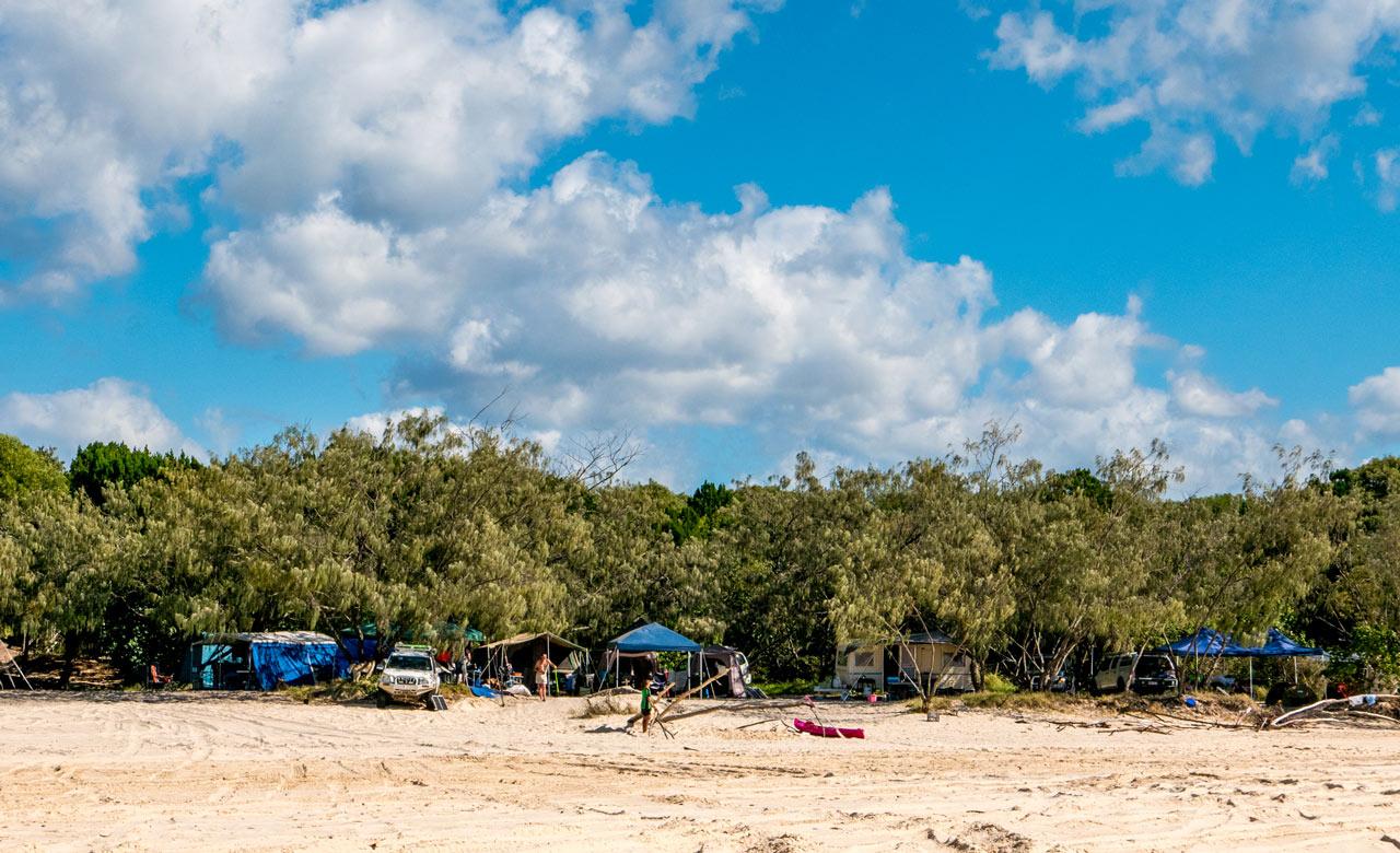 inskip peninsula recreation area - 10 bãi biển cắm trại tốt nhất tại Queensland cho mùa xuân này