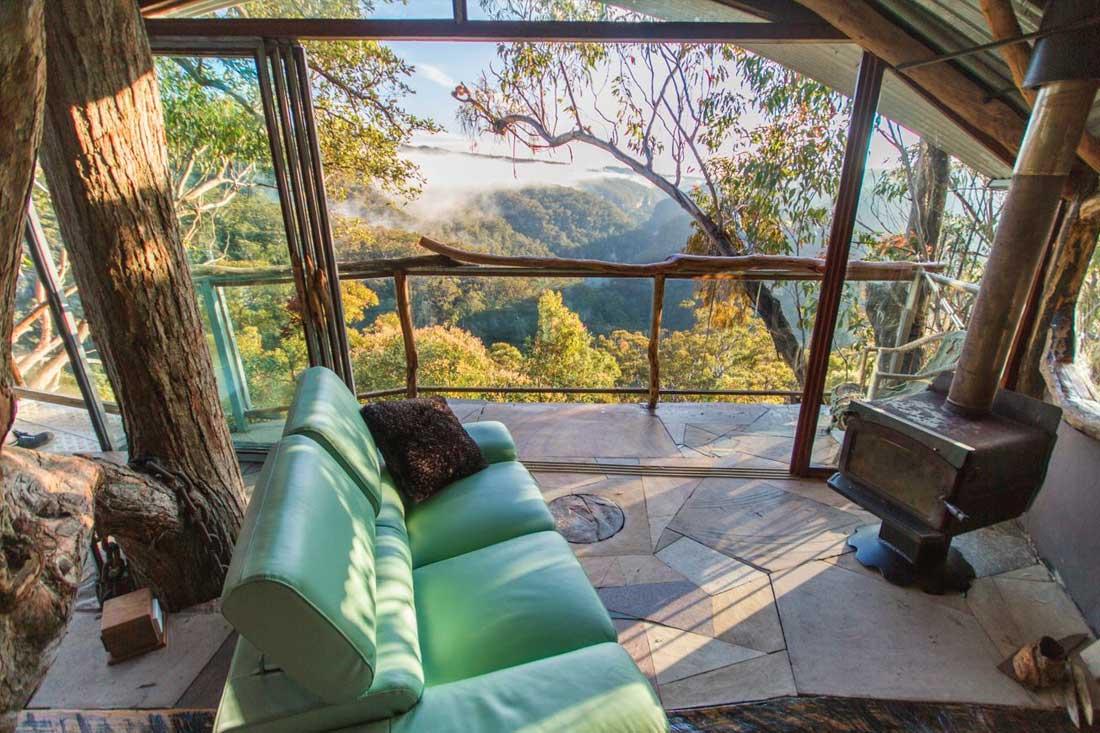 """love cabin 2 - Những treehouse gần Sydney khiến bạn chỉ muốn """"đưa nhau đi trốn"""""""