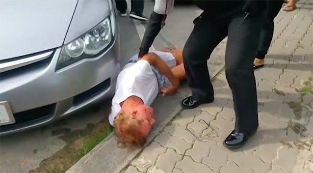 punch3 - Người đàn ông người Úc bị đánh dã man tại Thái Lan