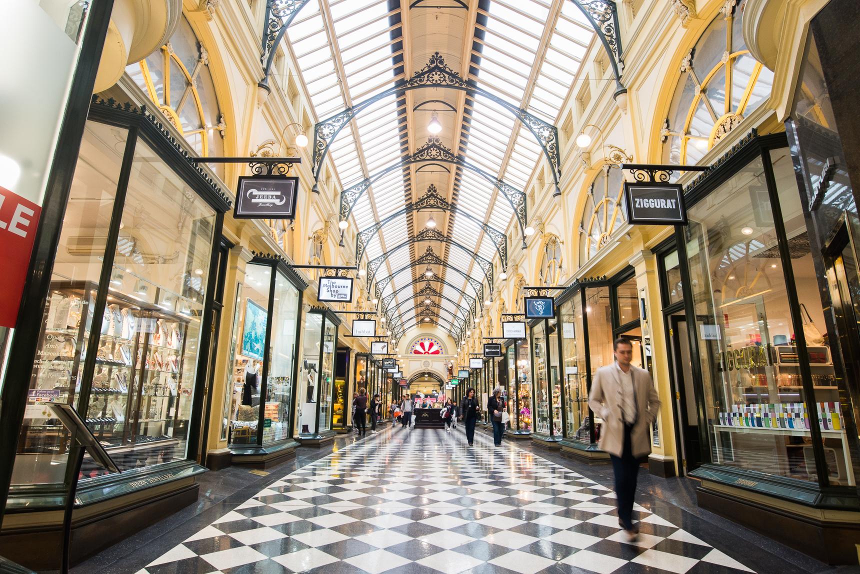 Melbourne's arcades