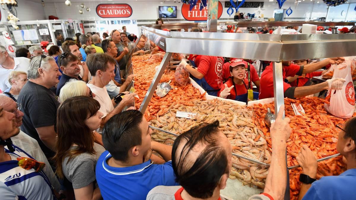 36 Hour Seafood Marathon