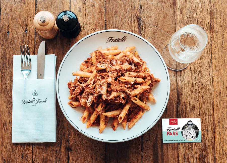 Fratelli Pass sydney - Khuyến mãi ăn nhà hàng 31 bữa ăn trị giá 6.45 đô/lần vào tháng 1 tới