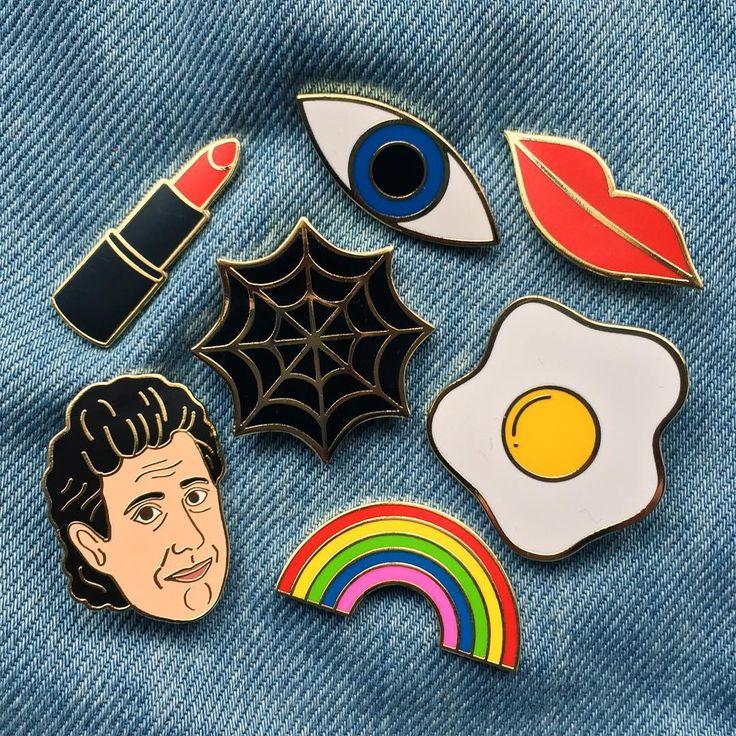 Georgia Perry pin