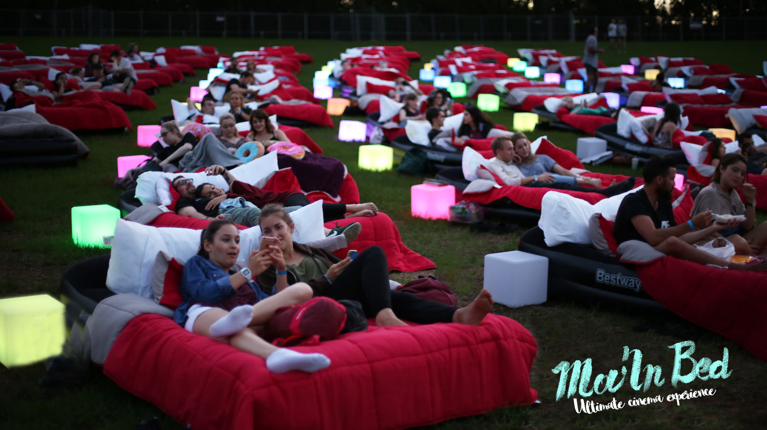 Mov'in Bed Open Air Cinema