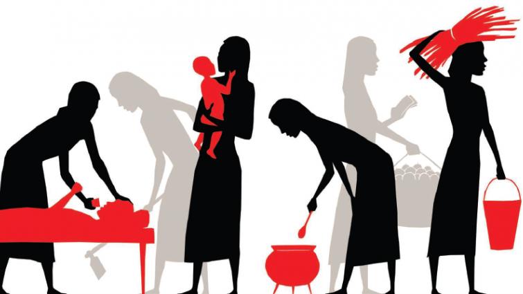 WomensUnpaidWork - Nhiều lao động chỉ được trả mức lương $3/giờ, vài trăm đô cho 60 đến 70 giờ làm việc