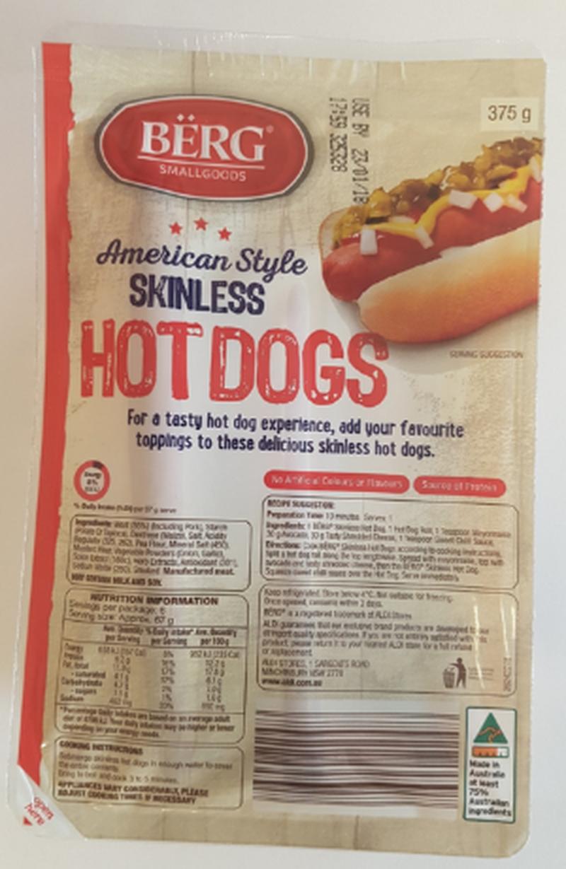 11 - Aldi: Toàn bộ sản phẩm Hotdog bị thu hồi do có chất lạ