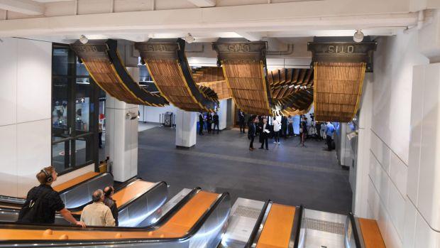 2 2 - Công trình kiến trúc độc đáo mới tôn vinh quá khứ của nhà ga Wynyard, Sydney