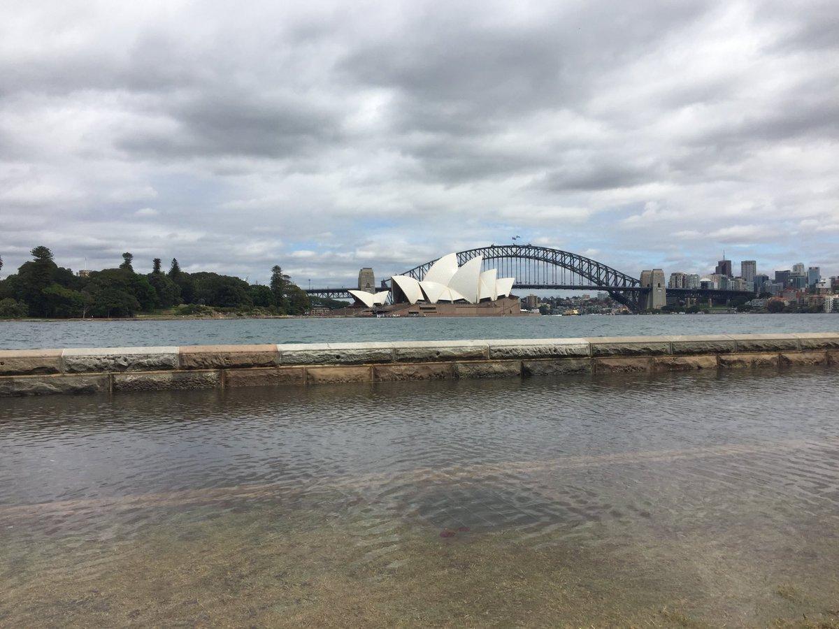 22222 - Thuỷ triều dâng ngập các khu vực xung quanh Sydney Harbour