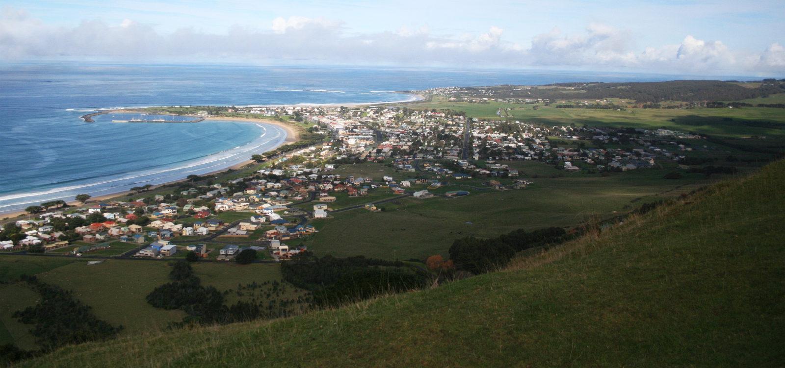 Apollo Bay from Mariners Lookout - 5 thị trấn bạn nên ghé thăm khi đi Great Ocean Road