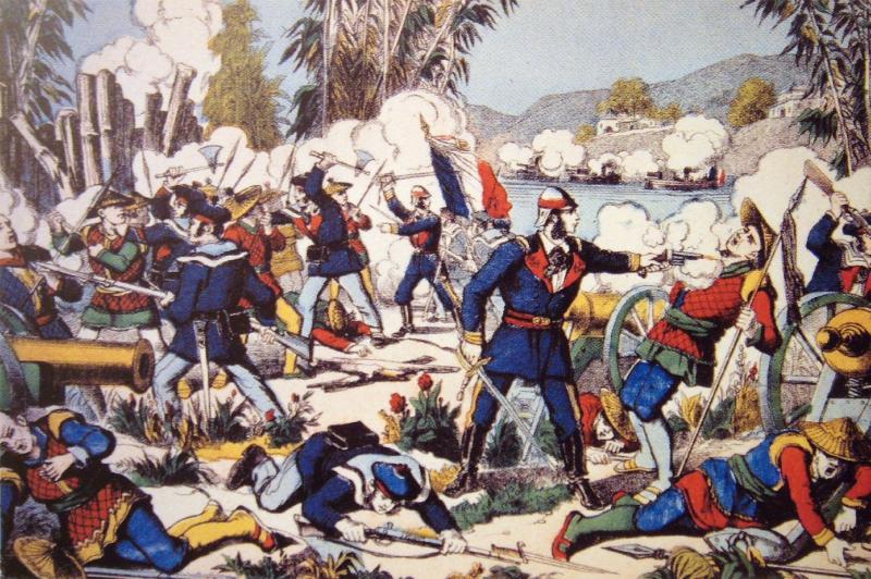 Combat of Nam Dinh 19 July 1883 - Đây là lý do vì sao người Việt lại CỰC KỲ thích uống rượu Hennessy!
