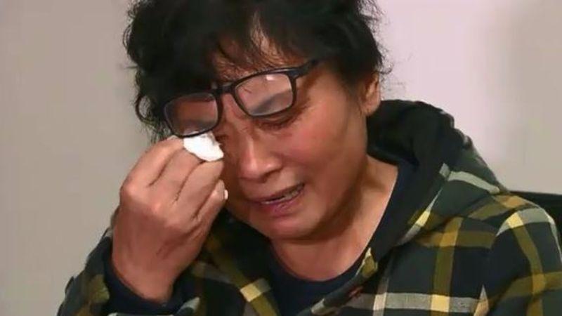 Victim Nick Hao's mother