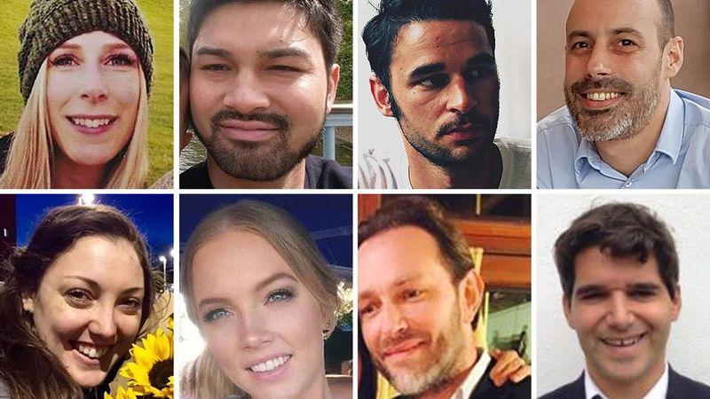 victims of the London Bridge terrorist attack - Tổng hợp những tin tức NỔI BẬT nhất năm 2017 tại Úc (phần 1)