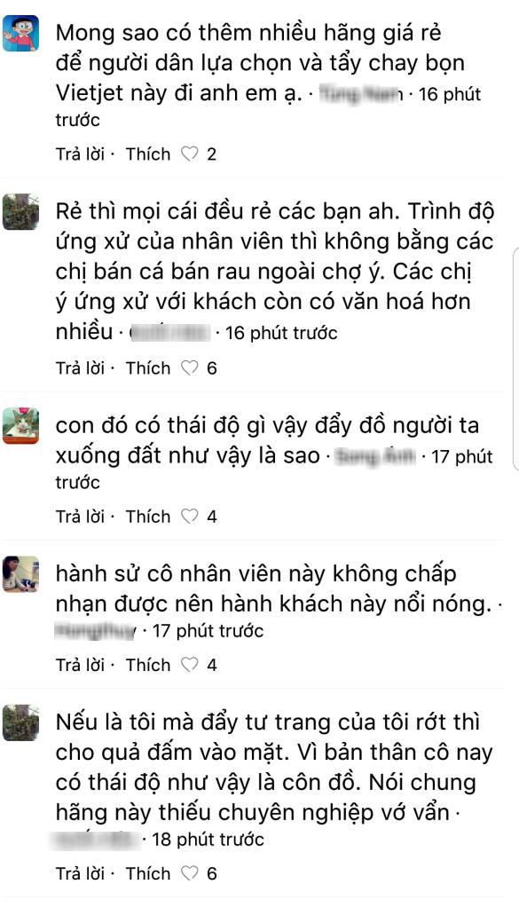 8 249355 - Clip khách đánh hụt nữ ca trưởng Vietjet Air vì 2 lần bị đẩy rơi túi xuống sàn tại sân bay Tân Sơn Nhất