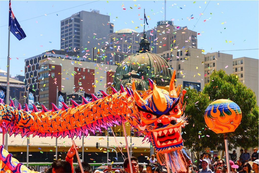 Chinese Lunar New Year 2014 Melbourne AU 12251048604 - Tưng bừng hội chợ Tết Việt 2018 tại Melbourne