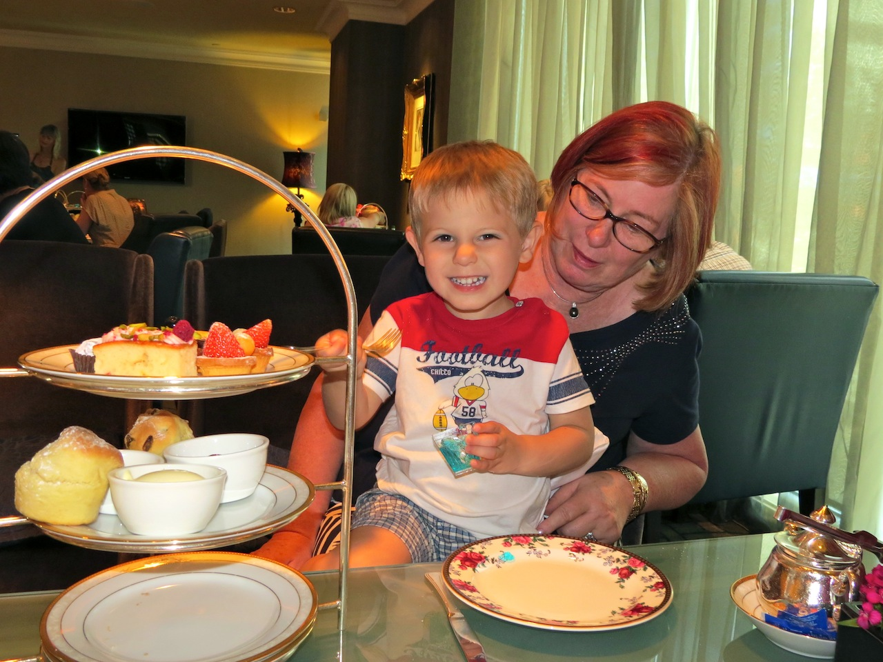 High Tea at the Langham Hotel