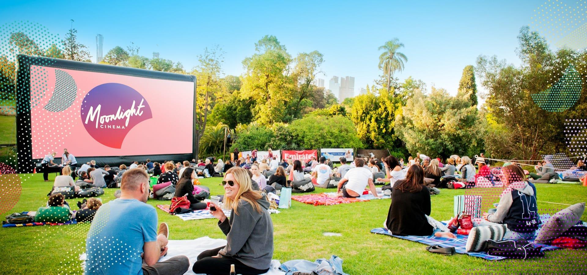 Moonlight Cinema - 9 rạp chiếu phim ngoài trời hot nhất Melbourne
