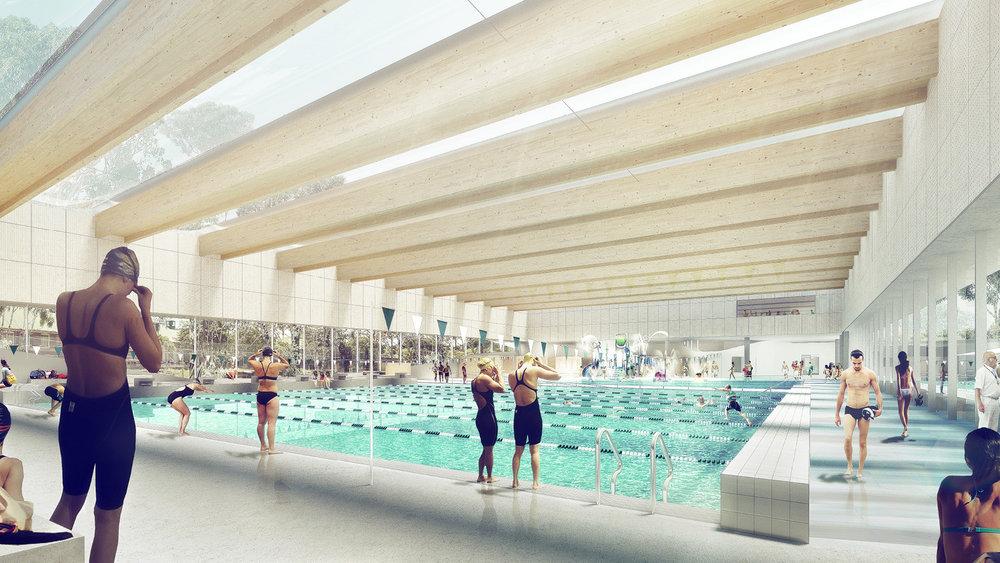indoor - Sydney: một hồ bơi với kiến trúc tuyệt đẹp sắp xuất hiện ở Green Square