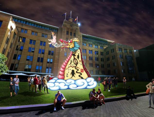 Dragon 700 x 530 634x480 - Trải nghiệm lễ hội Tết Âm lịch cho người Việt tại trung tâm Thành phố Sydney