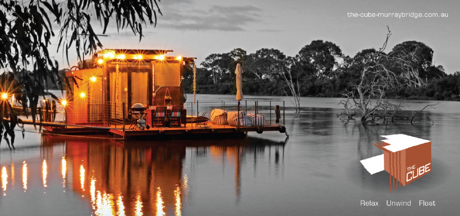 """The Cube Murray River - Melbourne: Xuất hiện """"khách sạn"""" giữa Murray River"""