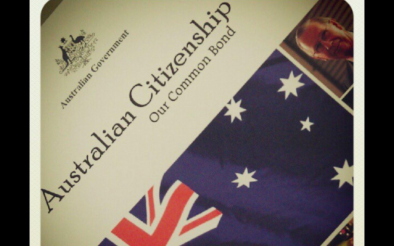 become an AUSTRALIAN CITIZEN