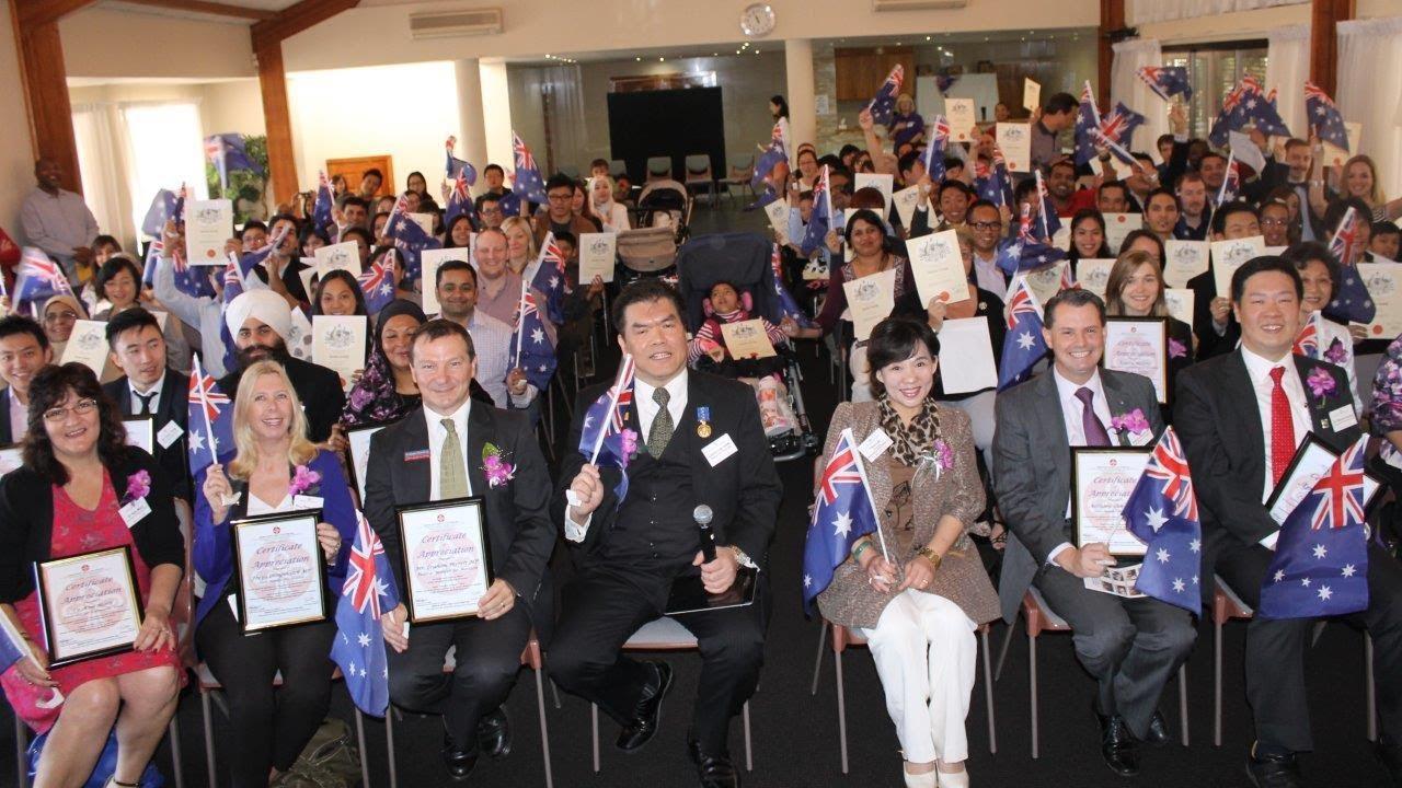 citizenship ceremonies australia